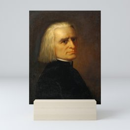 Franz Liszt (1811-1886) by Carl Ehrenberg in 1868 Mini Art Print