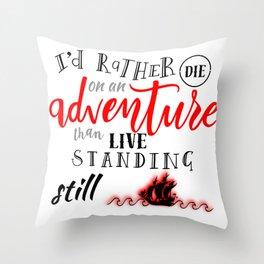 A Darker Shade of Magic - Adventure Throw Pillow