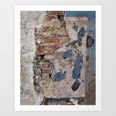 wall. Art Print