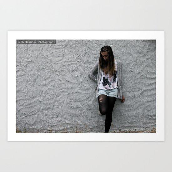Artsy Grey Wall Art Print