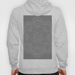 Gray Mandala Hoody