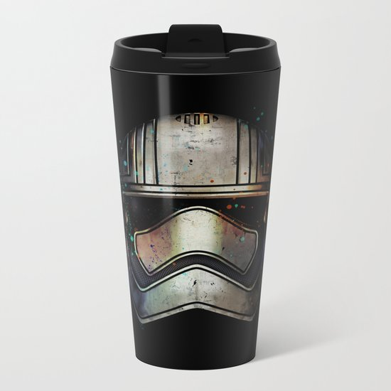 Captain Phasma Shadow Metal Travel Mug