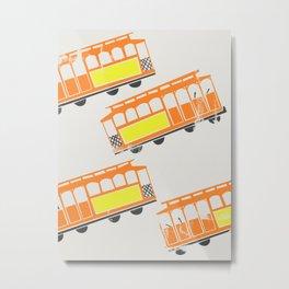 San Francisco Streetcars Metal Print