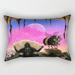 Zebedee the Alchemist Bee Rectangular Pillow