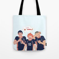 viria Tote Bags featuring impressed  by viria