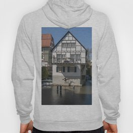 House in the water fisher quarter Ulm - Germany Hoody