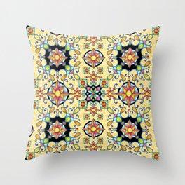 Rococo Starburst Throw Pillow