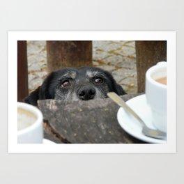 Caffeine Fix Photo Art Print