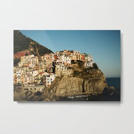 Manarola, Italy Metal Print