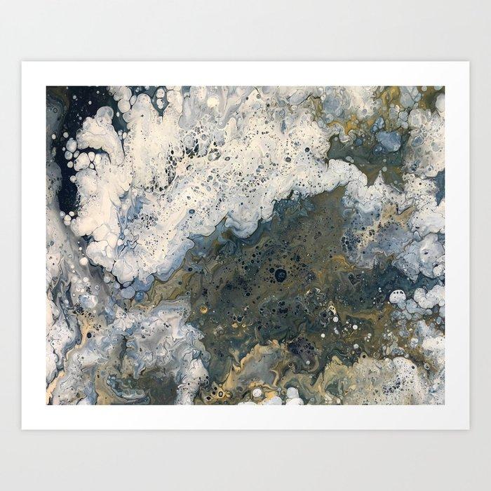Acrylic Pour 2 Kunstdrucke