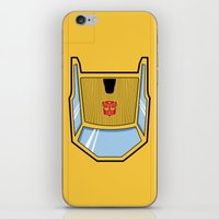 transformers iPhone & iPod Skins featuring Transformers - Sunstreaker by CaptainLaserBeam
