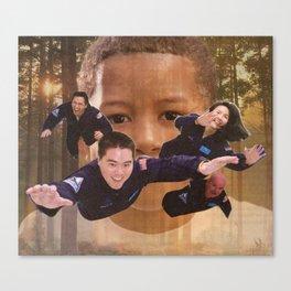 7AM Forest Levitation Canvas Print