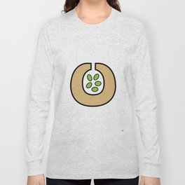 Ceramic Vessel with Beans Long Sleeve T-shirt