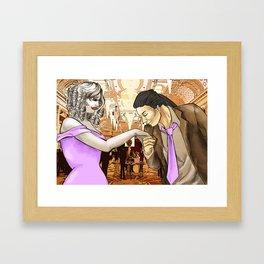 Ivanka and Niko 3 Framed Art Print