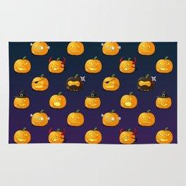Halloween Jack-o'-lantern Rug