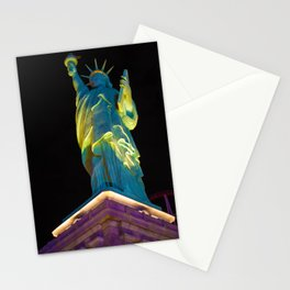 Statue of Liberty Las Vegas Stationery Cards