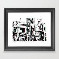 City That Inspires Framed Art Print