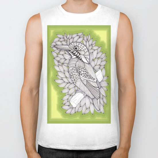 Zentangle Halcyon Biker Tank