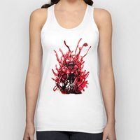 carnage Tank Tops featuring Carnage watercolor by Noel Castillo