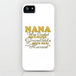 NANA iPhone Case