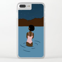 Sam the astronomer Clear iPhone Case