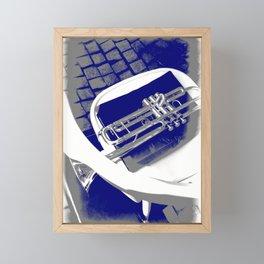 The silent trumpet Framed Mini Art Print