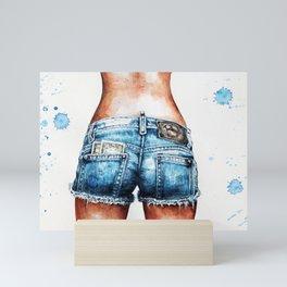 Shorts Mini Art Print