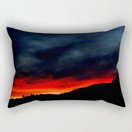 Australian Sunset in Summer Rectangular Pillow