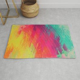 spectrum faux paint displacement Rug