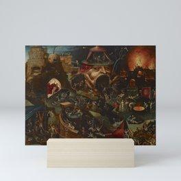 CHRIST IN LIMBO - HIERONYMUS BOSCH  Mini Art Print