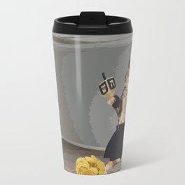 Jew Cat Travel Mug