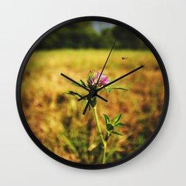 Flowers - WildFlower Wall Clock
