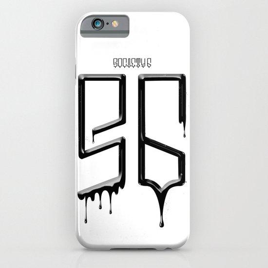 S6 TEE BLACK PAINT iPhone & iPod Case