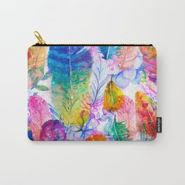 spring feathers Carry-All Pouch