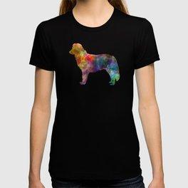 Nova Scotia Duck Tolling Retriever in watercolor T-shirt