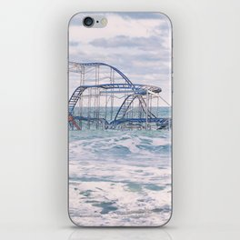Jet Coaster Full Closeup iPhone Skin