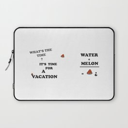 Watemelon products, printed product, Watemelon printable, quotes printed, print gift, printeddreams Laptop Sleeve