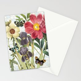 Flower Power Butterflies Stationery Cards