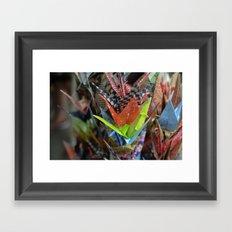 Origami Strand Framed Art Print