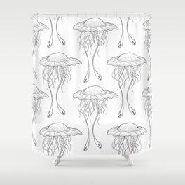 #3 Jellyfish Series Shower Curtain