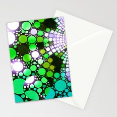 NEON NIGHTS II Stationery Cards