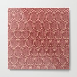 Art deco pattern Metal Print