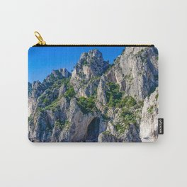 The White Grotto of the island of Capri, Italy off Naples and the Amalfi Coast Carry-All Pouch