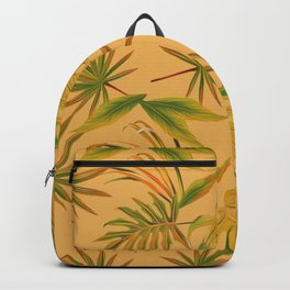 Leave Pattern Backpack