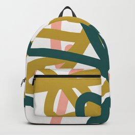 Abstract Lines 02A Backpack