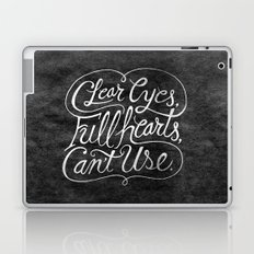 Clear Eyes, Full Hearts, Can't Use Laptop & iPad Skin