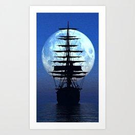 Black Sails Art Print