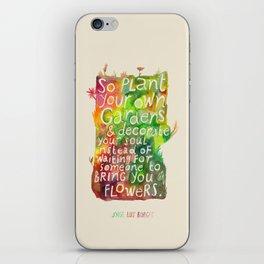 Jorge Luis Borges iPhone Skin