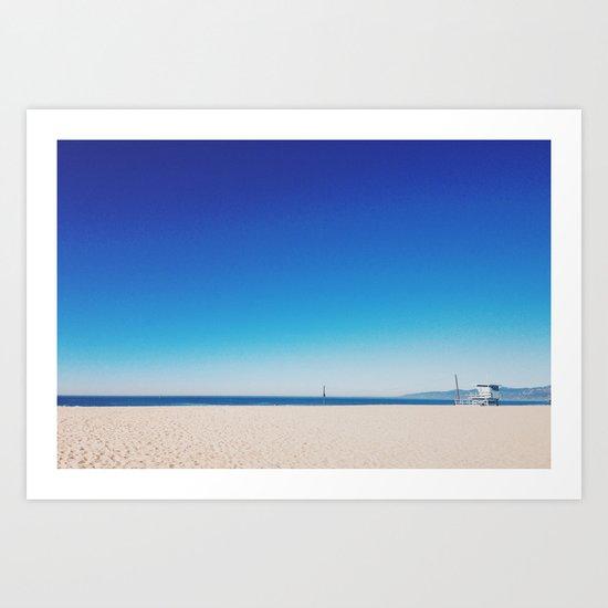 Playa Del Rey Art Print