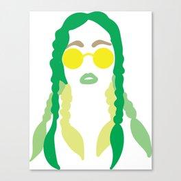 yellow sunnies pronto Canvas Print
